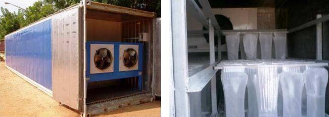 Disco Angola desarrolla instalaciones para la generación de hielo